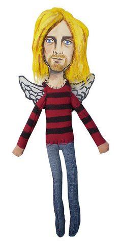 kurt Cobain by MEDIODESCOCIDO