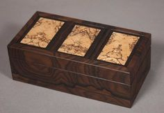black palm and koa dovetailed jewelry box 150