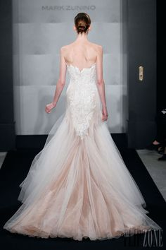 Mark Zunino for Kleinfeld - Bridal - 2013 Collection - http://en.flip-zone.com/fashion/bridal/ready-to-wear/mark-zunino