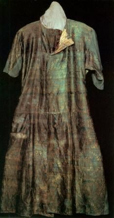 Tang Dynasty. Robe, excavated in the Caucasus. Hermitage Museum, St. Peterburg, Russia.