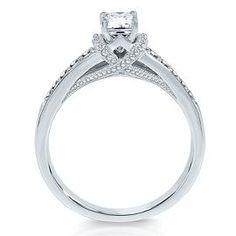 Vivaldi 1/2ct TW Diamond Engagement Ring in 14k Gold - Vivaldi Collection - Helzberg Diamond Symphonies - Collections - Helzberg Diamonds