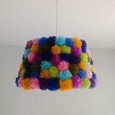 DIY project- Lamp by Sevil Alkan, via Behance