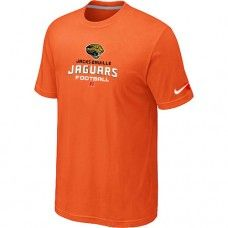 Cheap Men Jacksonville Jaguars Critical Victory Orange Short Sleeved T-Shirt Sale_Jacksonville Jaguars T-Shirts
