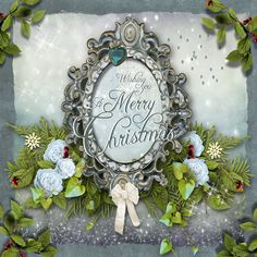 one of my more recent Christmas designs created using serif craft artist 2.1 graphics program. Havent made this up into an actual project yet but just found it on my laptop again and thought you might like to see it