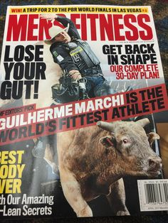 Mike TobinVerified account @MikeTobinFox Mar 17, 2017. Look who is on the cover of Men's fitness magazine @TeamCooperTire @chadberger #PBR