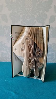 Toadstools+book+folding+pattern+by+LogansMakes+on+Etsy