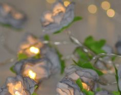 Hey I Found This Really Awesome Etsy Listing At Httpswwwetsy - Flower string lights for bedroom