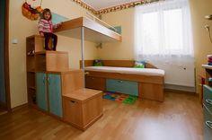Luxusní dětská patrová postel Caster Design