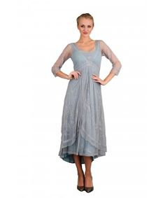 Downton Abbey Tea Party Gown in Sunrise by Nataya