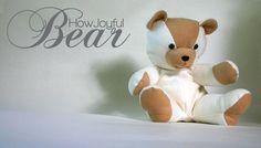 Free Teddy Bear Tutorial and Pattern