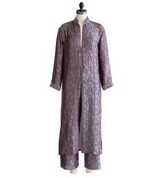 Elvish - Silk Kimono Pajama Set