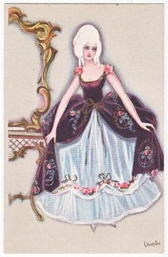 Rococo Woman
