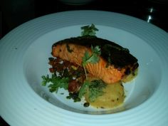 Grilled salamon