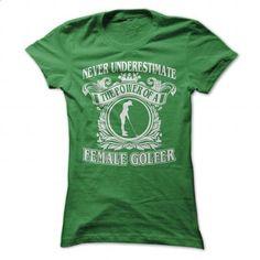 Cool Female Golfer - #hoody #make t shirts. I WANT THIS => https://www.sunfrog.com/Sports/Cool-Female-Golfer-Green-Ladies.html?60505