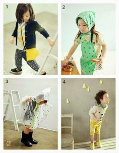 KID: 1) Bien A Bien 2) Ae-hem 3) Bien A Bien 4) Amber - Jujubunnyshop