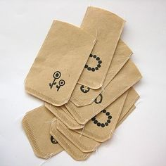Coffee filter bags. LOVE.