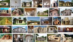 Earth bag houses and buildings come in all shapes and sizes Get plans. See how. Free Floor Plans, Earth Bag Homes, Eco Architecture, Passive House, Natural Building, Eco Friendly House, Earthship, Natural Living, Sustainability