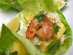 Island Shrimp Lettuce Cups