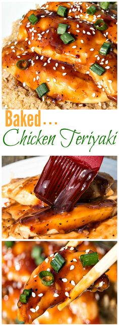 Hands down this Baked Teriyaki Chicken was better than an iced cold beverage on a hot summer's day.