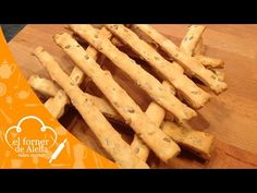 Grisines Palitos de Pipas de Girasol - YouTube