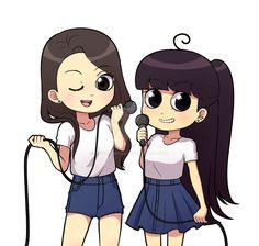 Pin-Up Girls conducen by YapuraMyau