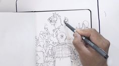 A sketchbook is the initial words of an artist about life. It's a special place where you can speak your own language. Ever wondered what your favourite artists' sketchbook looks like? Fourth and last episode of season 1 featuring Kim Jung Gi and hosted by Karla Ortiz.
