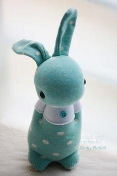 Grace--#297sock Domy Rabbit