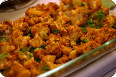 Crispy Curried Cauliflower (Indian Inspired Vegan Food) Kids love it!