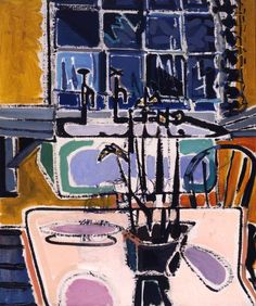 Patrick Heron: (The) Kitchen at Night : 1950. Early figurative Heron...