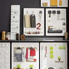 three by three Peggy Board Storage_crate and barrel