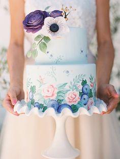 Coco Paloma- painted-cake- via The Cake Blog thecakeblog