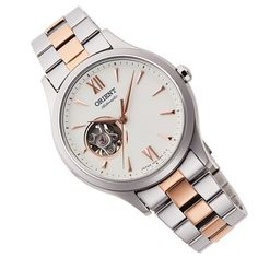 Sport Watches, Cool Watches, Watches For Men, Ladies Watches, Stainless Steel Bracelet, Stainless Steel Case, Orient Watch, Watch Companies, Automatic Watch