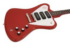 gibson custom shop - firebird non reverse 3 p90s. cardinal red.