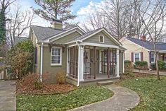 Chantilly Charlotte bungalow. #home