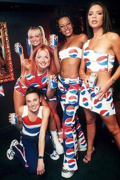 #SpiceGirls #Pepsi