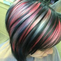 WEBSTA @ uggoff - The Iowa Caucus last night bumped my Good Morning America segment to tomorrow or the next day  :/ Sooooo, here's another pic of Riley's beautiful Icelandic volcano hair! #volcanohair #rainbowhair #mermaidhair #unicornhair #joico #specialeffects #behindthechair #modernsalon