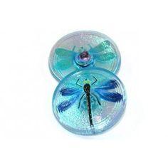 Glas knoop libelle
