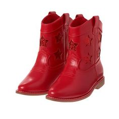 Girls True Red Star Boots by Gymboree