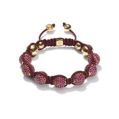 Ruby Pavé Bracelet - Shamballa Jewels