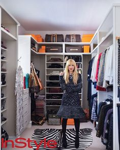 Look Inside Rachel Zoe's Chic Home - Rachel Zoe's Closet from #InStyle