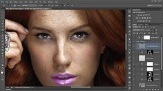 Useful Skin and Portrait Retouching Photoshop Tutorials #RetouchingPhotoshop
