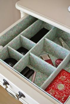 Grace Style Home Design: DIY vanity organizer
