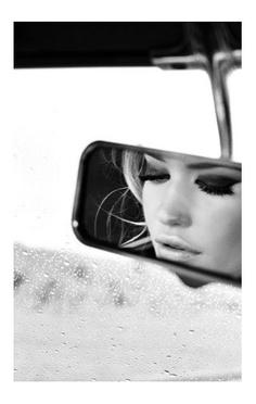 Car mirror reflection #MicraAttitude #UK #confidence