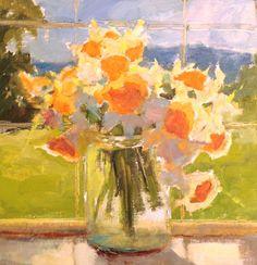 """Janette Jones     """"Joyful Spring"""" 10x10"""