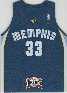 2012-13 Panini Threads Team Threads #17 Marc Gasol - NM-MT