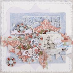 TSC Project by DT member Trudi Harrison featuring Spring Awakening collection.