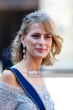 Princess Tatiana of Greece and Denmark, new tiara at Swedish weddings June 2015