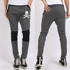 Find skull clothing and accessories for men and women New Hot Sale Men'... New items added daily http://rebelstreetclothing.com/products/new-hot-sale-mens-pants-skull-harem-pants-men-sweatpants-mens-joggers-baggy-pants-mens-sports-pants-pantalones-hombre-2