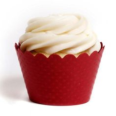 Red Emma Cupcake Wrappers