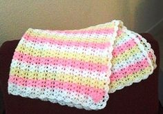 A beautiful repeat pattern which is also very easy to memorize, this baby blanket is fast and easy to make. Shells and Double Crochets Baby Afghan by Roseanna Beck is the type of pattern that is so pretty and so very easy, will simply take your breath away. This simple crochet baby afghan pattern looks …